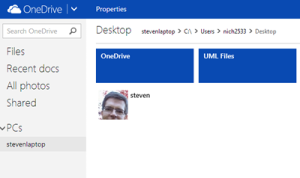 OneDrive Fetch File