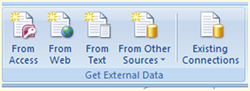Excel Connection to SQL