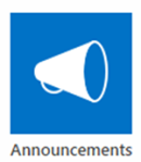 SharePoint Announcement