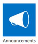 SharePoint Announcement