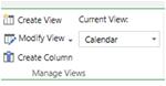 Calendar Custom View